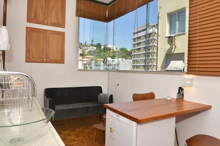 New mini-apartment with living-room and bedroom in a charming district and well located, near subway (50m).