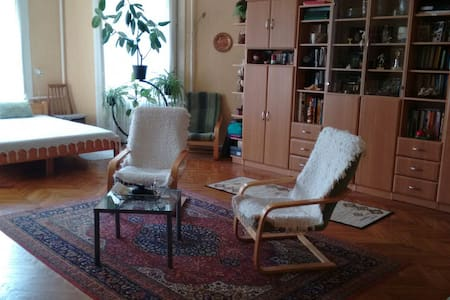 Spacious Bedroom+Living rm 2 beds • Friendly Home - Sülysáp