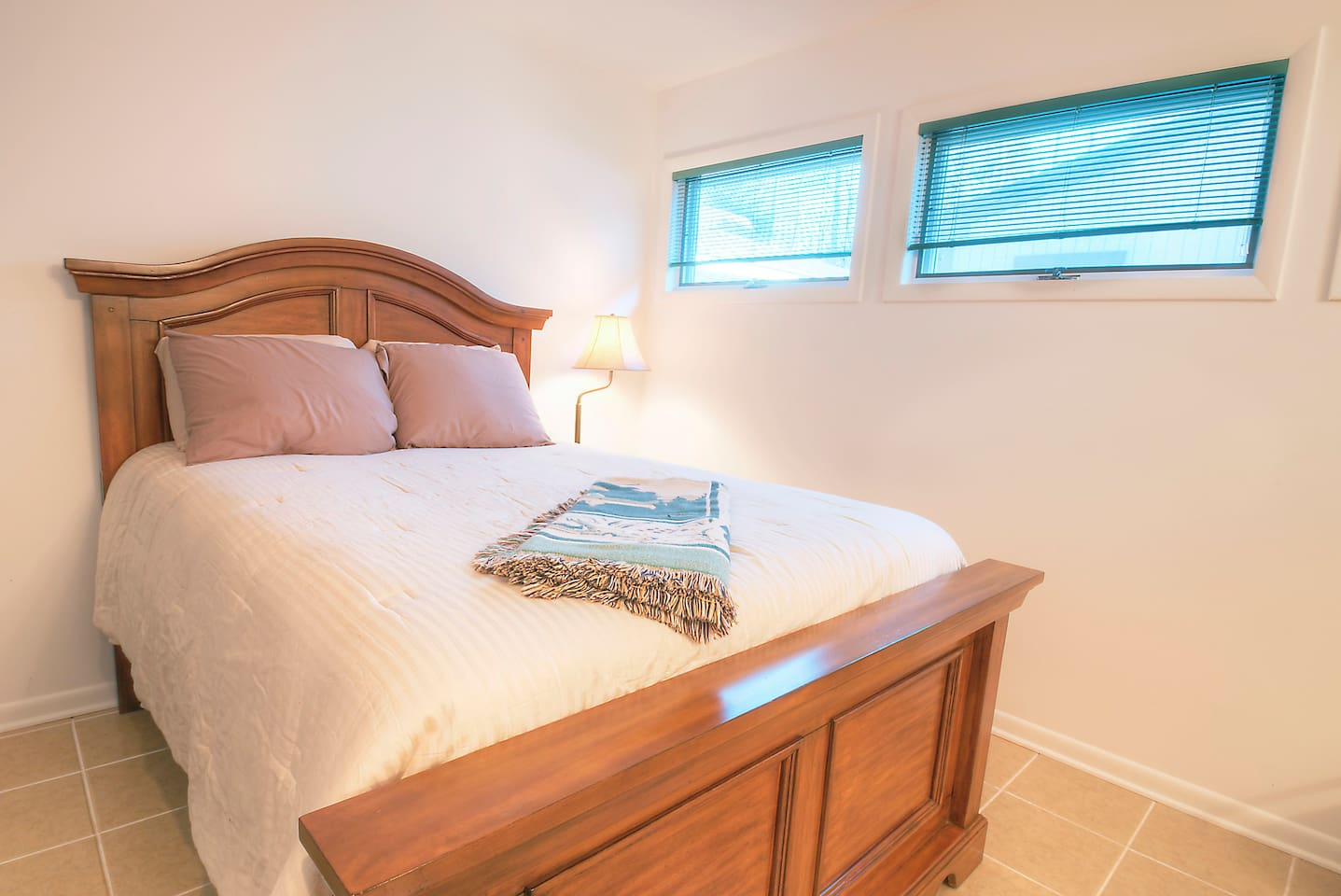 Master bedroom - oversize double bed