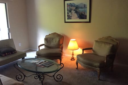 Cozy Private Space with Kitchen,Gym and pool. - Smyrna - Apartment