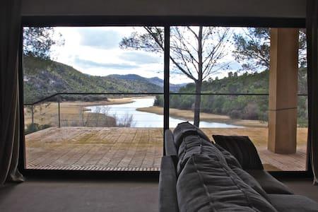 Luxury villa on lake near Madrid - Sacedón - House