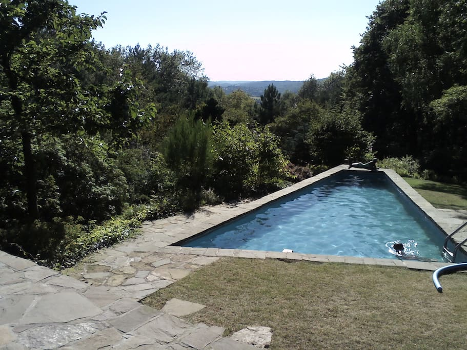 Villa 1958 piscine jardin 10ha houses for rent in for Chaudfontaine piscine