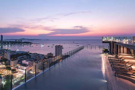 2 BR Stylish Apartment in Central Pattaya - Apartment