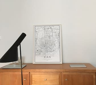 极简主義風格公寓 - Xi'an - Lägenhet