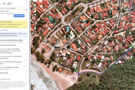 House 300m from the beach Guaiuba - Guarujá - House