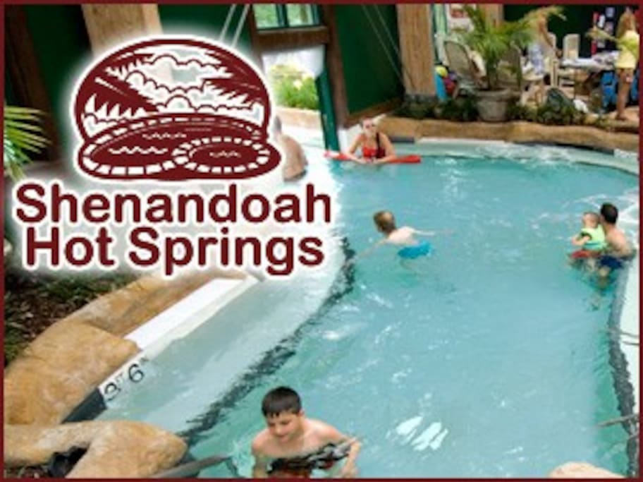 The waterpark has a hot springs area for kids and an even hotter area for adults only.