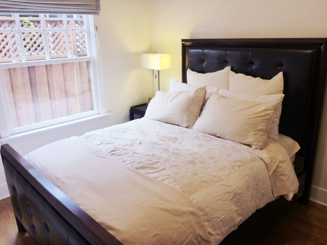 The most comfortable bed with plenty of natural light