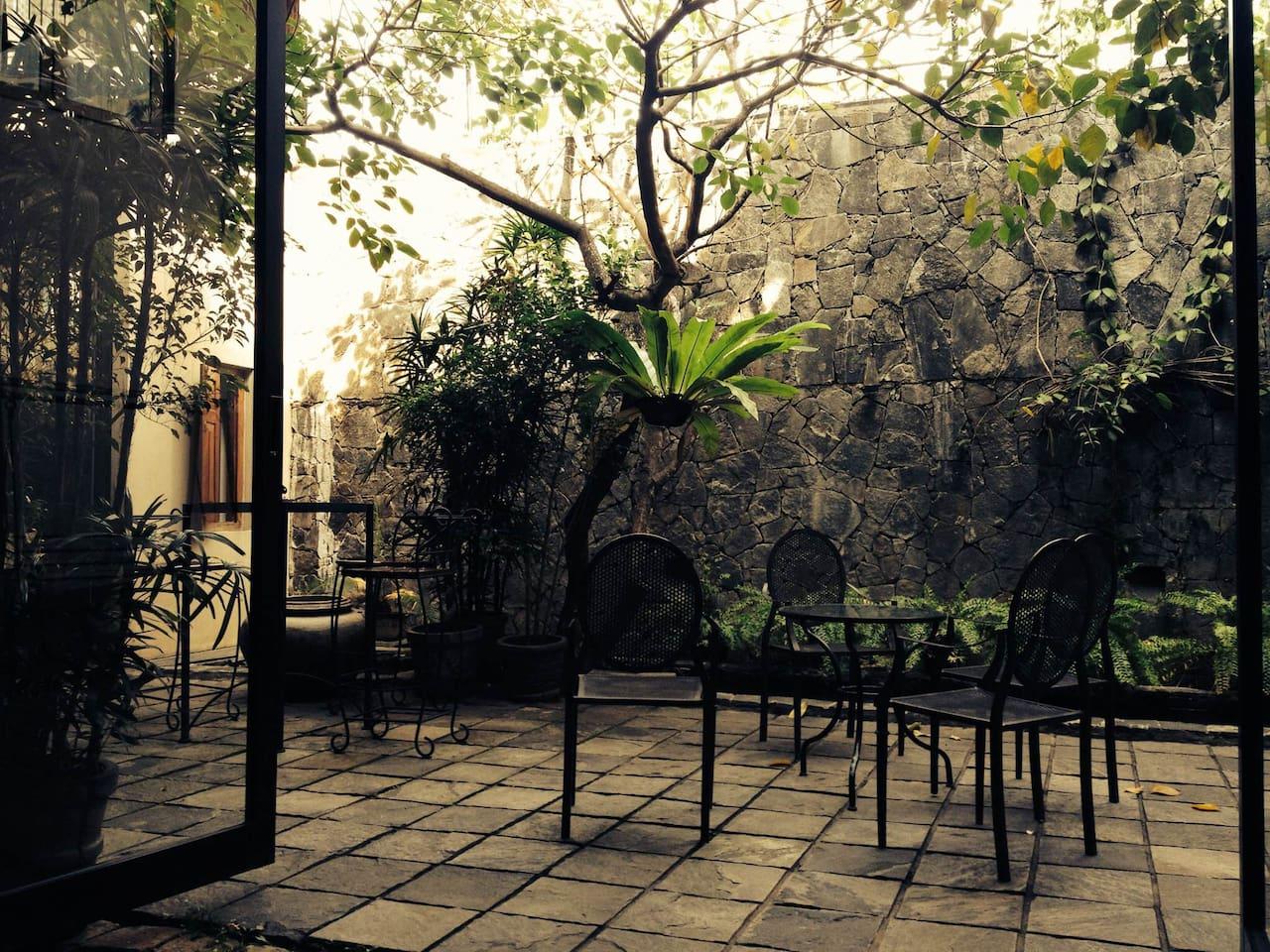 Part of the Unique Courtyard!