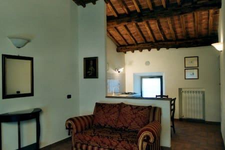 Granaio: bilocale in antico casale - Apartamento