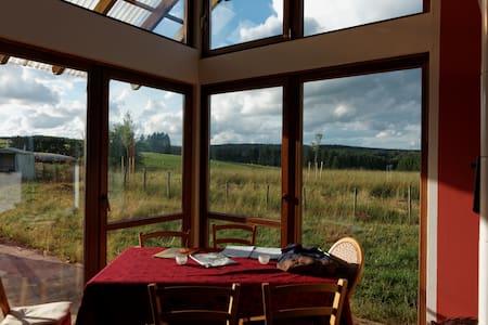 bio-kamer met prachtig uitzicht  - Büllingen - Casa