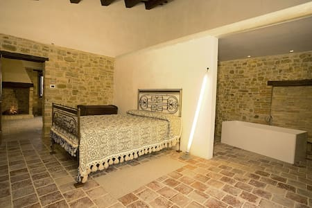 Stone farmhouse, Peppine room - Rumah