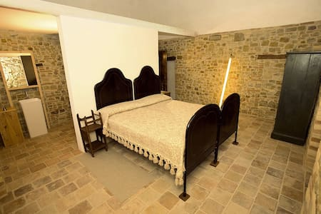 Stone farmhouse, Lu Pizzute room - Rumah