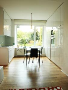 Minimalist Apartment with Garden in Centre of Brno - Brno - Apartment