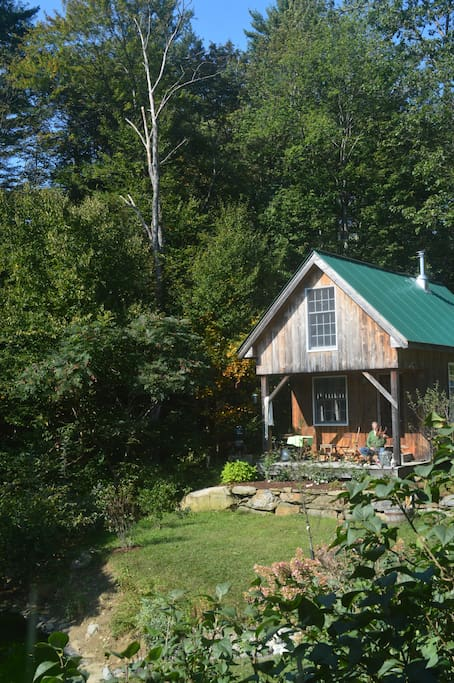 Solheim cabin in late summer