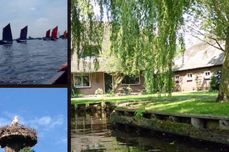 B&B De Mollestee in Giethoorn - House