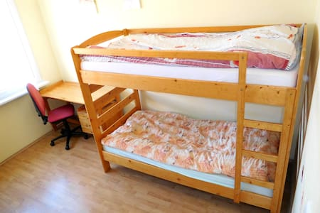 room for 2 just 15 mins from the city center - Appartamento