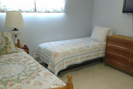 Trundle bed: for one or two people! - Casa