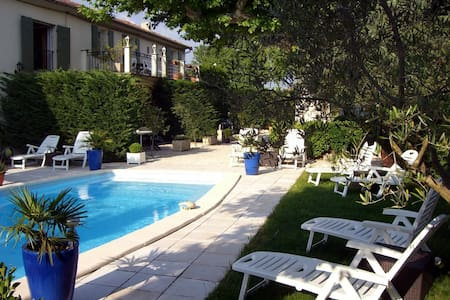 Old Lodging and pool in Provence GL - Apartment
