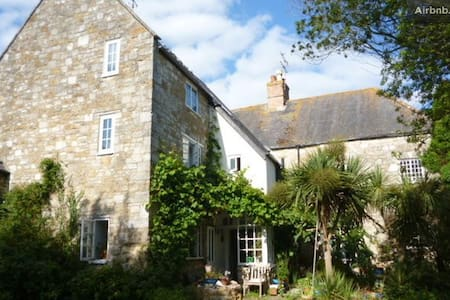 Lovely old house near Jurassic coast, Chesil beach - Abbotsbury - Casa