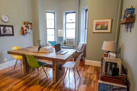 Historic and Hip Brooklyn Apt - Brooklyn - Appartamento