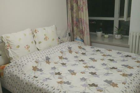 温馨浪漫的舒适小屋,有空调,具有冬暖夏凉的舒适温度,独立的饮食起居环境 - Leilighet