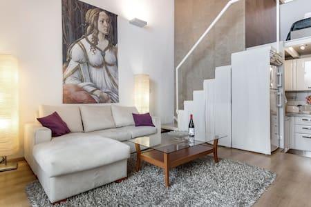 Cool metropolitan lifestyle loft  - Florence