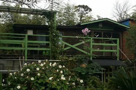 바다가보이는 통나무집 - Zomerhuis/Cottage