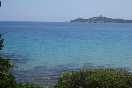 Villa F4 vue golfe Pinarello-2mn à pied de la mer - Zonza - Hus