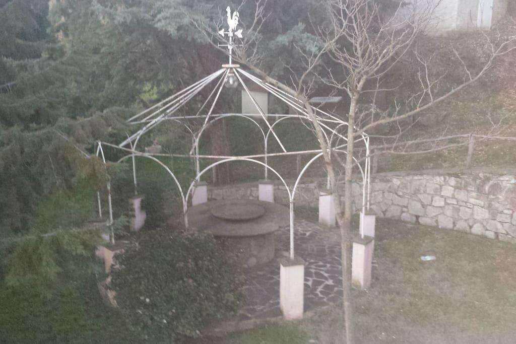 il giardino posteriore
