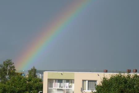 Beautiful stay in green town Svitav - Apartment