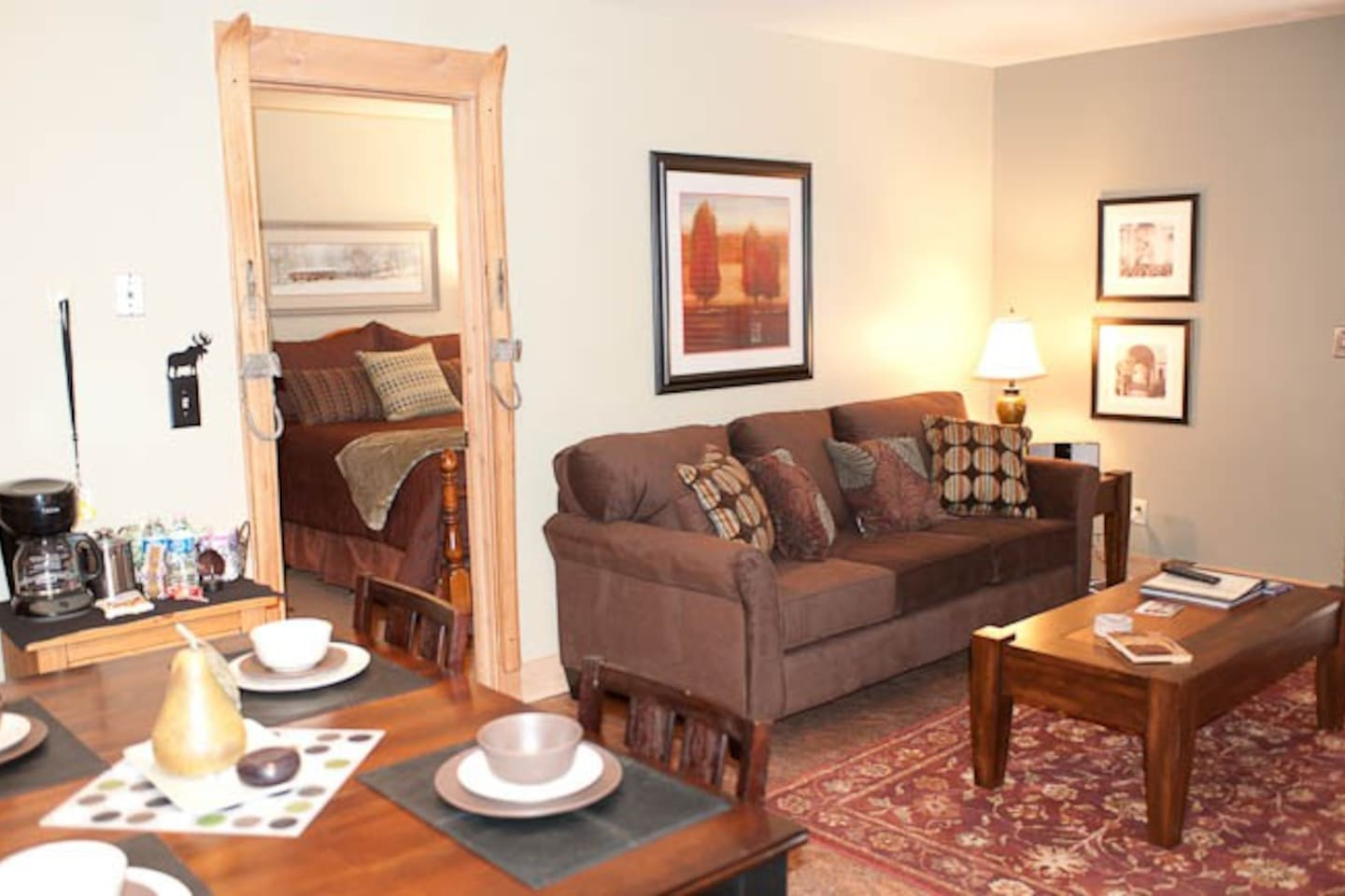 Pro stager coordinated full condo!  All new and gorgeous! Park City condo