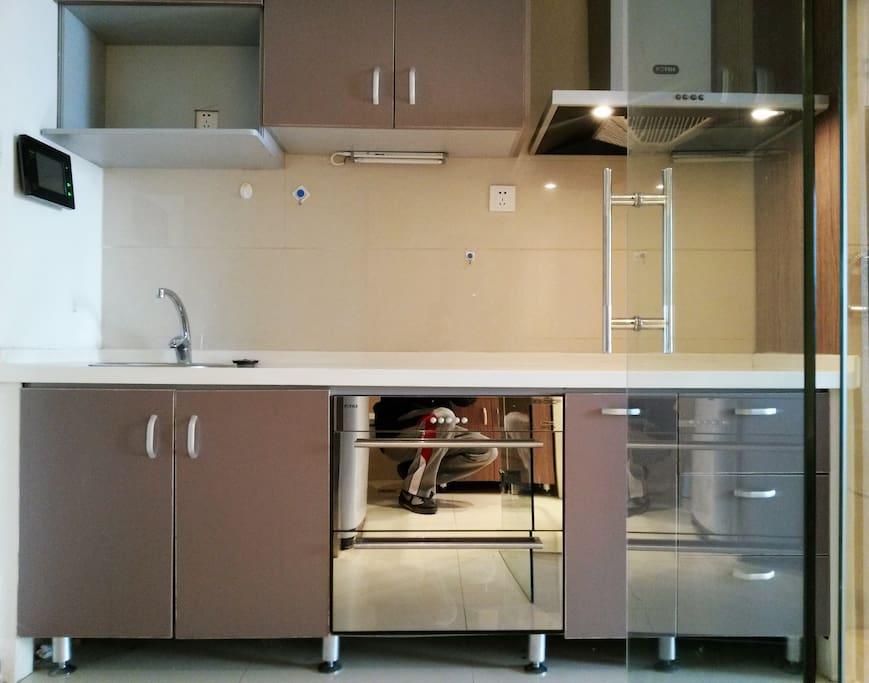 Clean & Spotless Kitchen