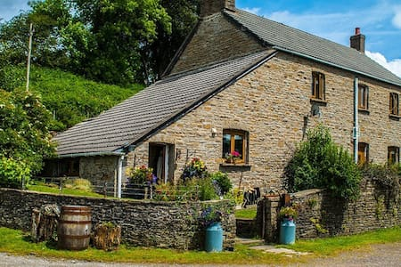 Farmhouse on a working cider farm - Huis