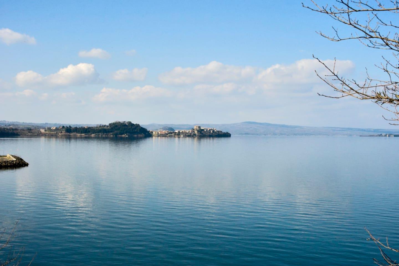 Vista sul Lago di Bolsena