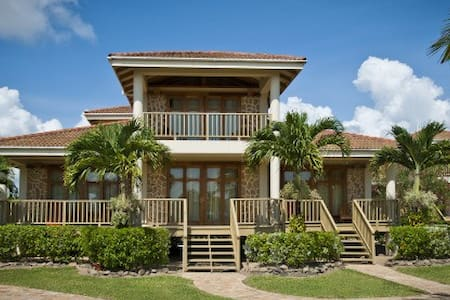 Hopkins Bay, 2-Bedroom Beach House - House