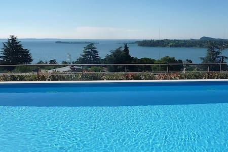 Relax, view and swimmingpool - Gardone Riviera - Apartment