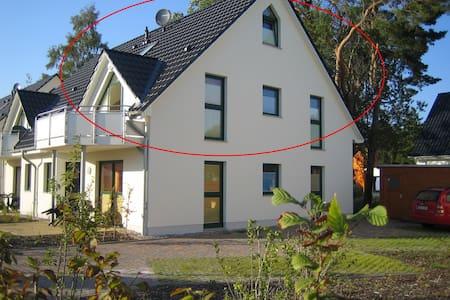 Sonnige Ferienwohnung auf Usedom - Zinnowitz - Huoneisto