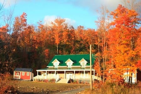 Beautiful Secluded Country Property Near Sugarbush - Casa