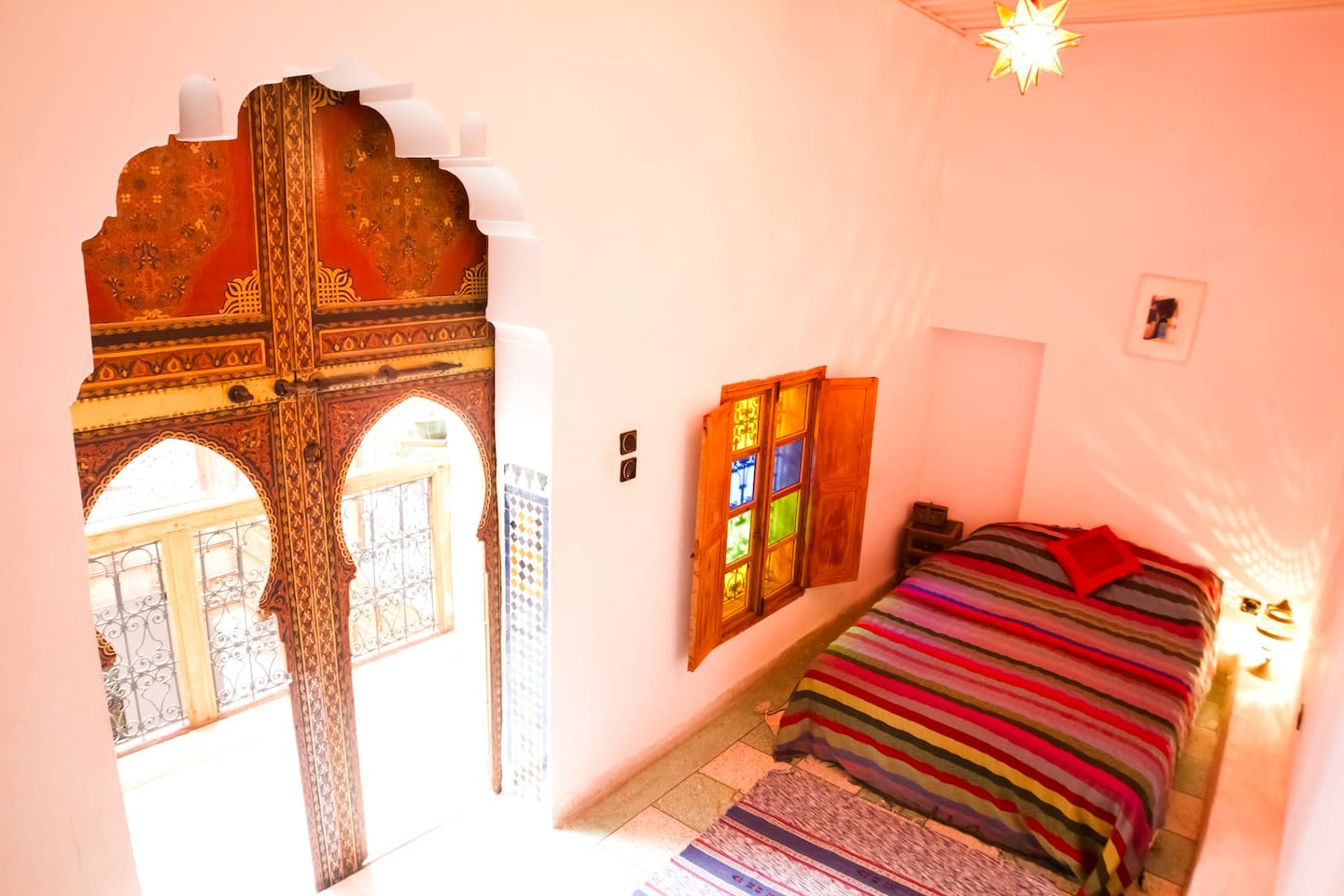 The Red Room, Dar Rbab, Fes Medina