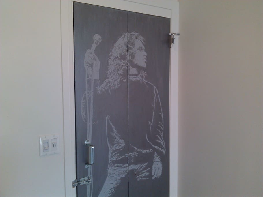 Jim bedroom door