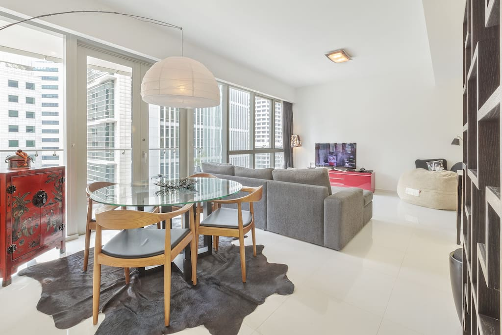 Large Room, Central Luxury Condo.