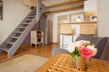 Paris-Saintonge is a very charming apartment located in the heart of the historical Paris neighborhood, le Marais.