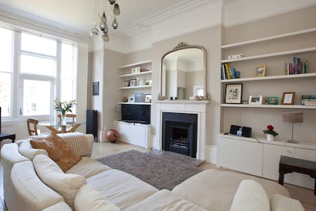 Beautiful airy period seaside flat - Hove - Apartment
