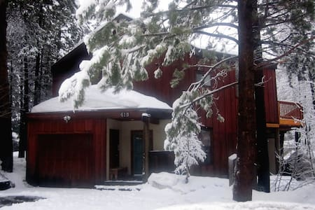 Tahoe/Squaw Valley Family Friendly - House