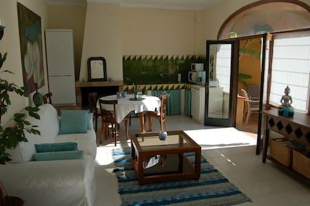 Cosy studio with pool