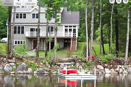 New all season lakefront house on Washington Pond - Washington - Huis