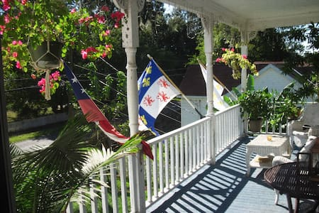 L'Habitation Elizabeth. Louisiana French Creole. - Lafayette - Apartment