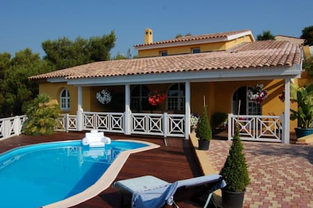 NICE SUNNY VILLA  WITH POOL - Cagnes-sur-Mer