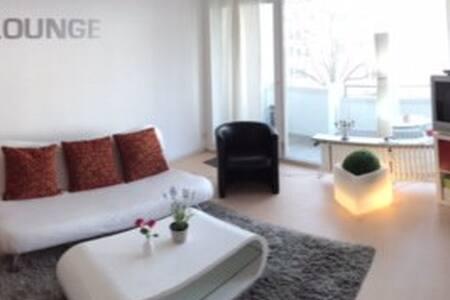 Design-Zimmer nähe Alster & Messe - Hamburg - Wohnung