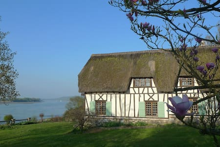 Thatched cottage - Normandy - Seine - Talo